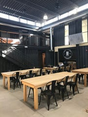 The Detroit Shipping Co. is slated to debut in the Cass Corridor mid-July. It is one of a handful of new food halls in various stages of development around Detroit.