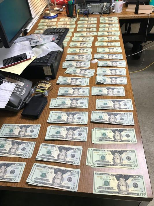 Interstate 84 counterfeit cash