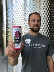 Ben Stamp, assistant winemaker for Lakewood Vineyards,