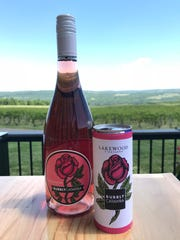 Bubbly Catawba will be the first canned product for Finger Lakes winery Lakewood Vineyards.