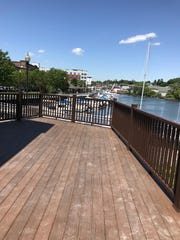 The deck at the new Colony Grill in Port Chester. Photographed June 14, 2018.