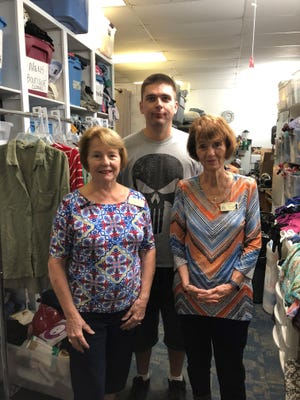 Come see Jan Hart, Adam Williamson and Terry-Fowler at the Treasure House, the thrift store for Hibiscus Children;s Center.