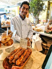 Fernando is a smiling face behind the counter at The