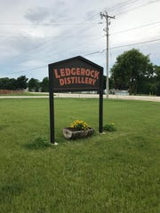 Located at N5287 Grandview Road, Ledgerock Distillery