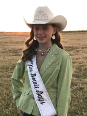 The 2017 Miss Jim Bowie Days is Allison Otwell, Mineral