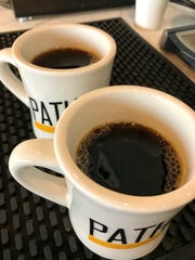 Coffee brewed property at Path Coffee Roasters new