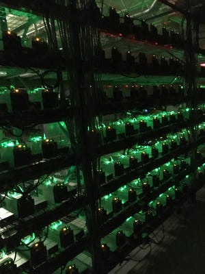 Cryptocurrency mining business model