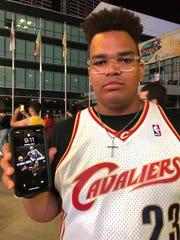 Drake Heidepriem, an Ohio native and ardent Cavaliers