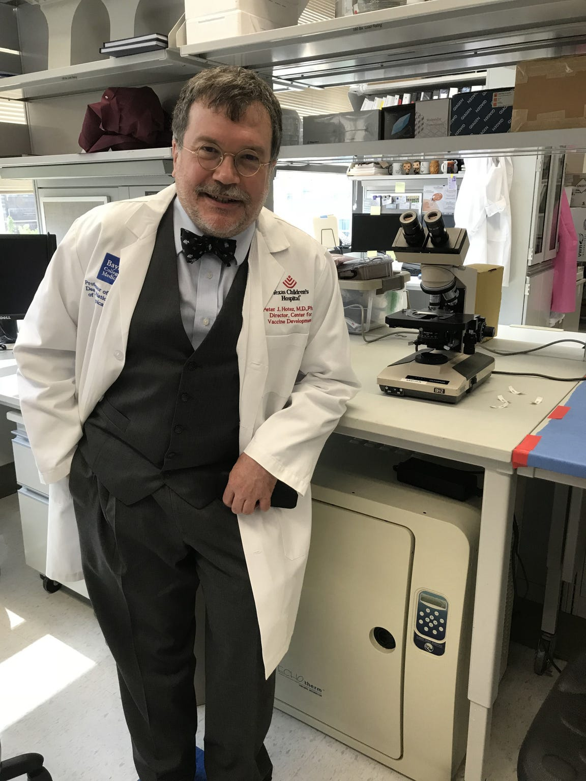 Dr. Peter Hotez is the dean for the National School