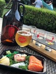 Red Tank Brewing's beers are designed to be paired with food.
