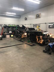 The Lunstra Motorsports shop near Brandon that once