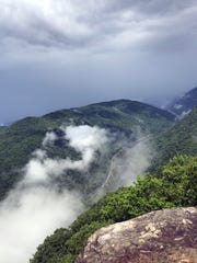 The Grand View overlook of the New River Gorge is worth taking a detour from I-64.