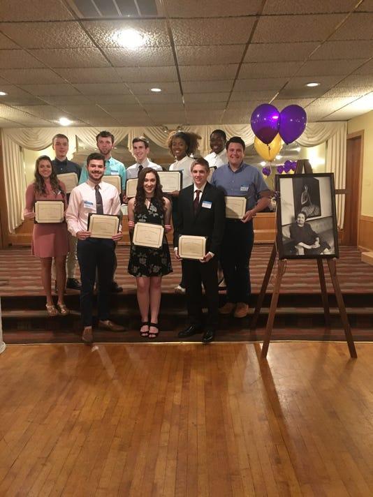 DeLeeuw Scholarship recipients for 2018
