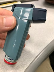 Medical inhalers are not recyclable, but the Buncombe
