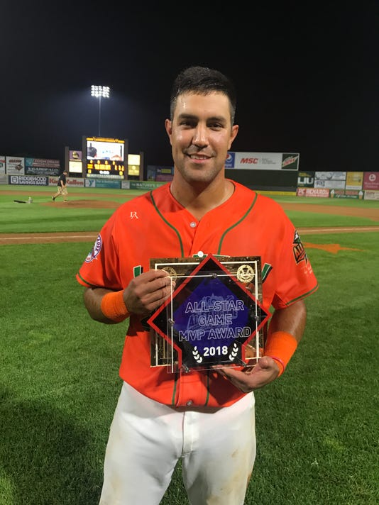 636670074918615164-Alfredo-Rodriguez-posing-with-his-Atlantic-League-2018-All-Star-Game-MVP-trophy.JPG