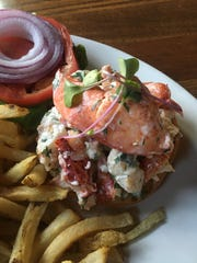 The lobster meat at RiverMarket in Tarrytown comes from Montauk Point, whenever available.