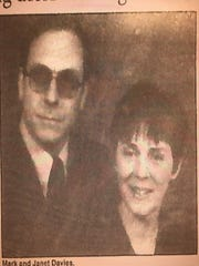 Mark and Janet Davies of Howell, as pictured in a Sept.