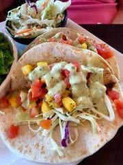 The mahi mahi tacos at Jack and Harry's on Merritt Island were fresh-tasting and delicious.