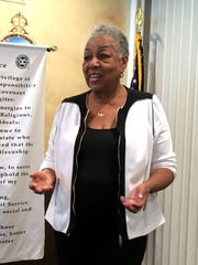 Crystal Bujol is Exchange Club of Indian River's 2018