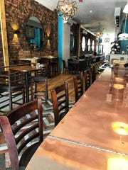 The copper bar at TVB By: Pax Romana in White Plains.