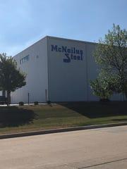 McNeilus Steel Inc., located on Larsen Drive.