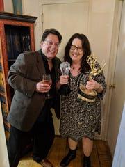 Joe Brancato, Penguin artistic director (left), Ann