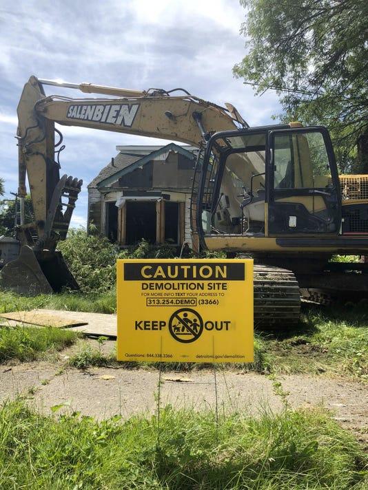 Detroit Demolition Lead
