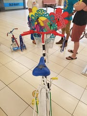 Step 3-4: This Art Bike turned out fun, happy and whimsical.