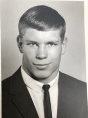 Paul Schafer as a high school student at CMR.
