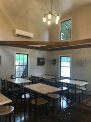 The Saltbox Smokehouse retained the charm of the 1800s