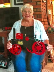 Founding member Judi Rhode of the Dodge County Antique