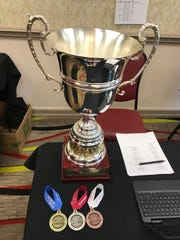 The Governor's Excelsior Cup is awarded to the top