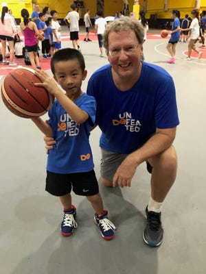 Mark Newlen, who now lives in Richmond and taught at FCA basketball camps in China last summer, is excited about watching his Virginia Cavaliers in the Final Four this weekend.