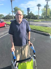 Len Wein of Palm City believes the lack of parking