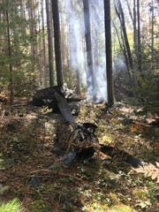 Ground crews located the wreckage of a dual propeller King Air, 10 passenger plane.
