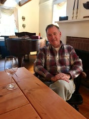 Founder Peter Leitner inside the Mount Salem Vineyards