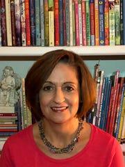 Librarian Cathy Smith