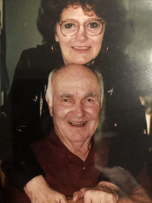 Paul Lebo is pictured with his wife, Dorothy. The Port Orange man died on July 13 from coronavirus. He and his wife had both been hospitalized with the virus, but only she survived.
