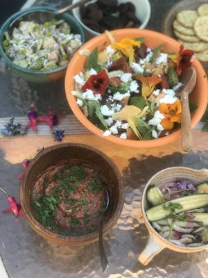 CAFE 541 dining columnist Gracie Schatz has just the recipes you need to make a perfect summer picnic, including for potato salad and Muhammara.