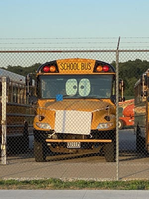 Students in most Stark County schools will once again be required to wear a mask while indoors and on the school bus. Last school year, staff at Sandy Valley decorated the school buses with masks to welcome students back.