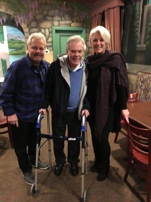 Tim Taylor, Dick Goddard and Robin Swoboda reunite.