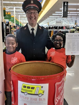 The Salvation Army teamed with Walmart's across Northeast Ohio recently for the Stuff the Bus campaign to collect school supplies for local children.