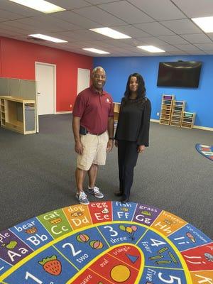 The Rev. Donald Blanks and Jennifer Ancruem spearheaded the opening of Today's New Start Learning Center in Waynesboro.