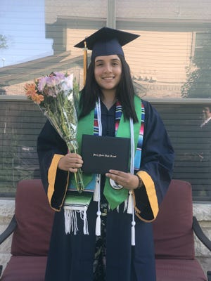 Rocio Del Toro, a recent graduate of Stony Point High School, is one of 60 student recipients of this year's El Amistad Club scholarships. She plans to attend the University of Texas at El Paso and major in liberal arts, before transferring to UT Austin.