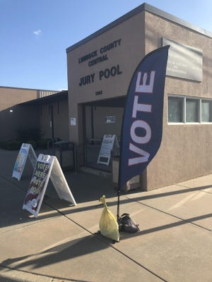 Early voting will take place next week for Lubbock County's 2020 Republican and Democratic runoff elections.