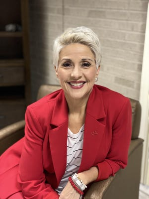 Dawn Watts, CEO of Encompass Health in Fort Smith, will host the American Heart Association's River Valley Go Red for Women campaign event online Oct. 22.