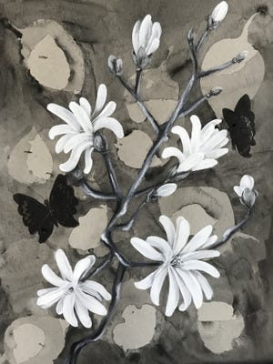 """The Great Ponds Gallery at the Lakeville Public Library has a new exhibit, """"A Community Challenge in Black and White,"""" on display this month."""