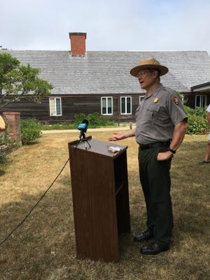 Cape Cod National Seashore Superintendent Brian Carlstrom announced Wednesday that two of the Seashore's six ocean beaches will be without lifeguards this summer. A downward trend in applications combined with restrictions in government housing due to the coronavirus threat have led to fewer lifeguards being hired for the summer, Carlstrom said.