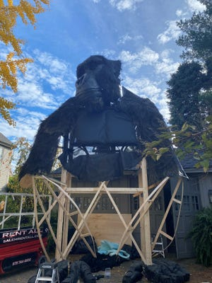 Watch out for Kong, who will be looming over Pleasant Street through the weekend.