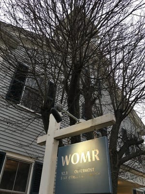 WOMR, which is based in Provincetown, broadcasts at 92.1 FM as well as 91.3 FM.